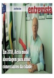Em 2018, Acita muda abordagem para atrair comerciantes da cidade
